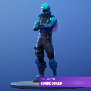 Honor Guard Fortnite Outfit Skin For PC/Andriod/IOS/XBOX/PS4