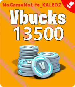 Fortnite 13500V-Bucks (Link XBOX Can Also Recharge)NS/PS
