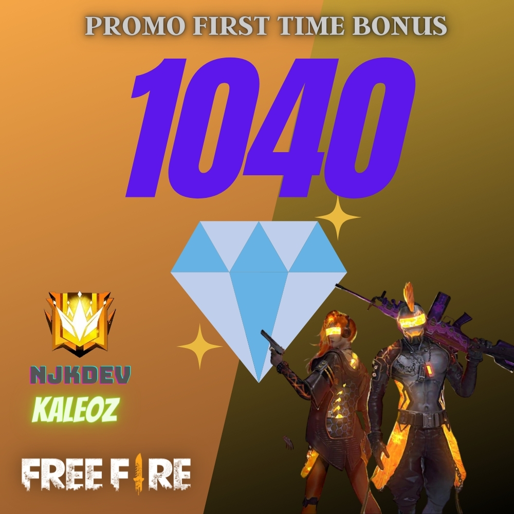 Top Up Garena Free Fire 1040 Diamonds If Available Bonus And 572 If Not Available Bonus Read Description Reload Service Free Fire Kaleoz